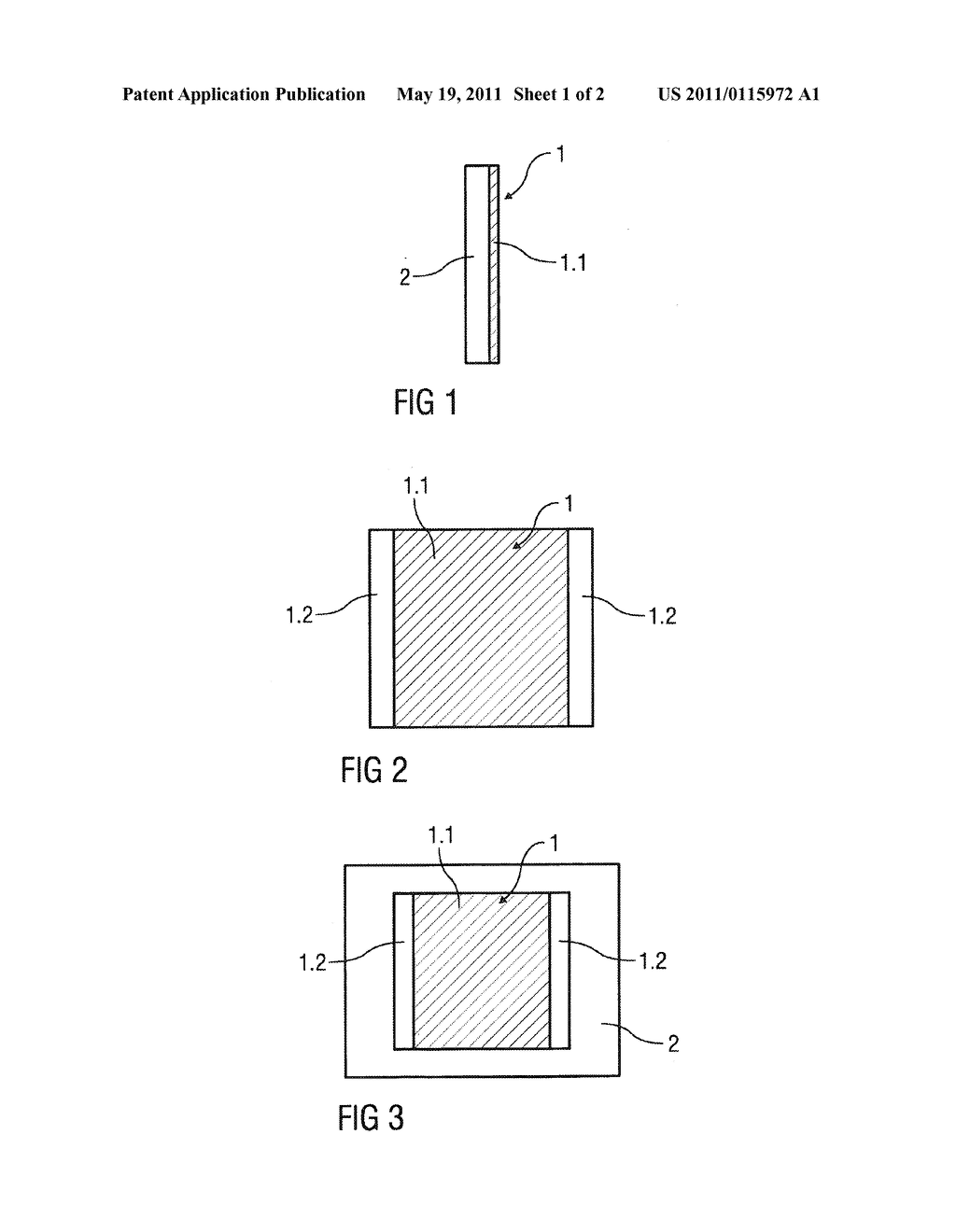 HEATING DEVICE FOR HEATING A GLASS SURFACE, PARTICULARLY A PROTECTICE GLASS OF AN OUTDOOR CAMERA, AND ELECTRONIC AND/OR OPTICAL DEVICE HAVING A PROTECTIVE GLASS - diagram, schematic, and image 02