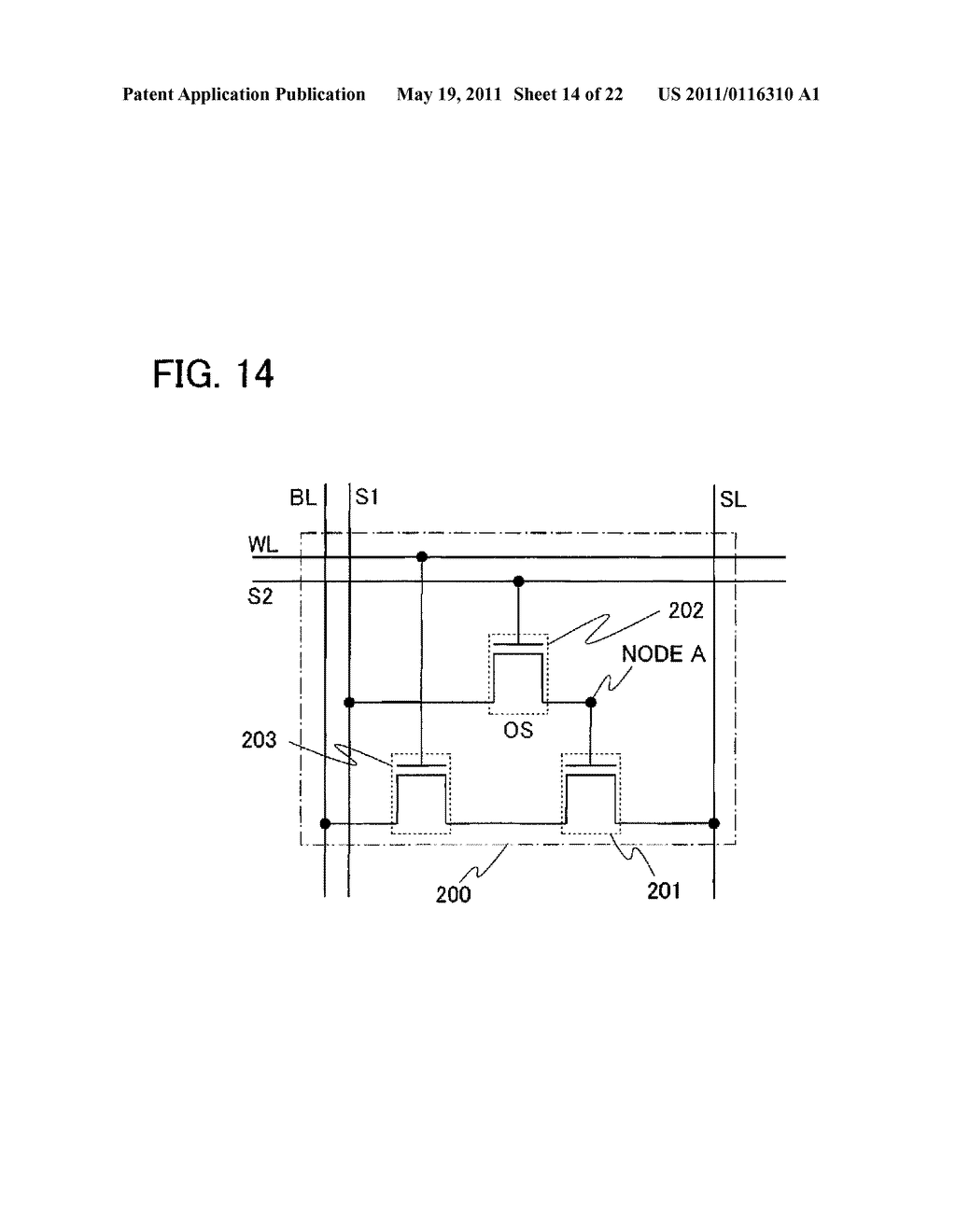 SEMICONDUCTOR DEVICE AND DRIVING METHOD THEREOF - diagram, schematic, and image 15