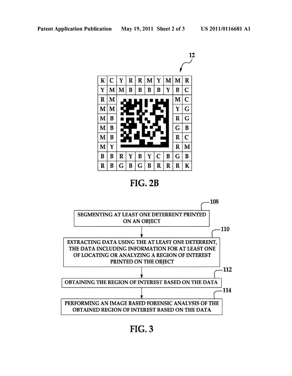 Security Printing Analysis System And Method For Enhancing Security Printing - diagram, schematic, and image 03