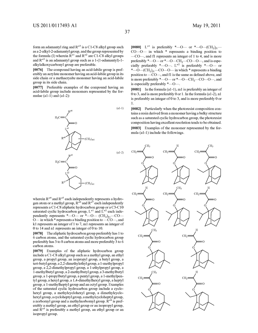 SALT AND PHOTORESIST COMPOSITION CONTAINING THE SAME - diagram, schematic, and image 38