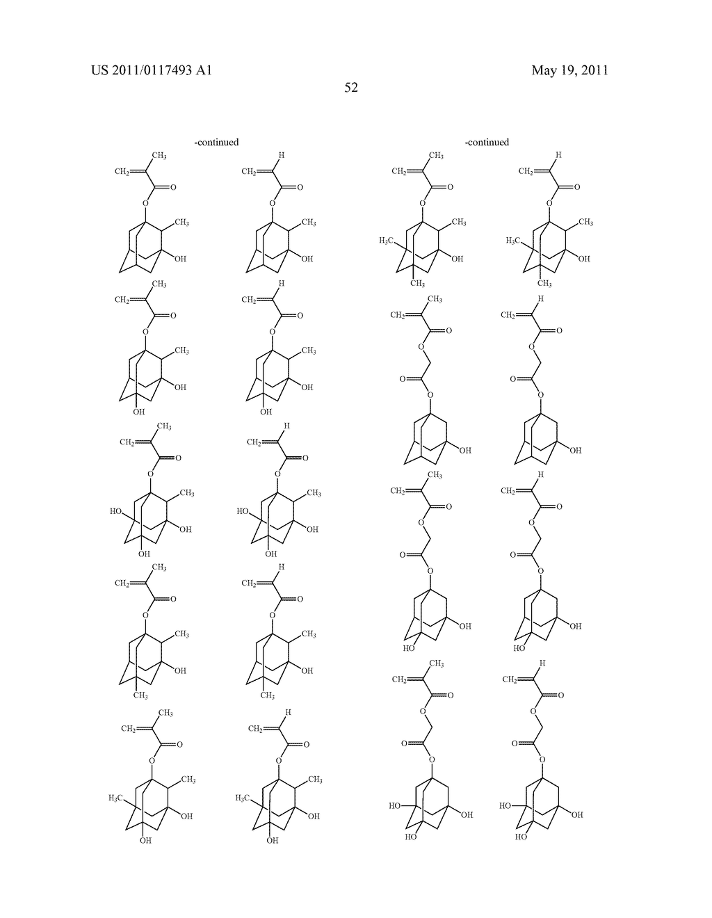 SALT AND PHOTORESIST COMPOSITION CONTAINING THE SAME - diagram, schematic, and image 53