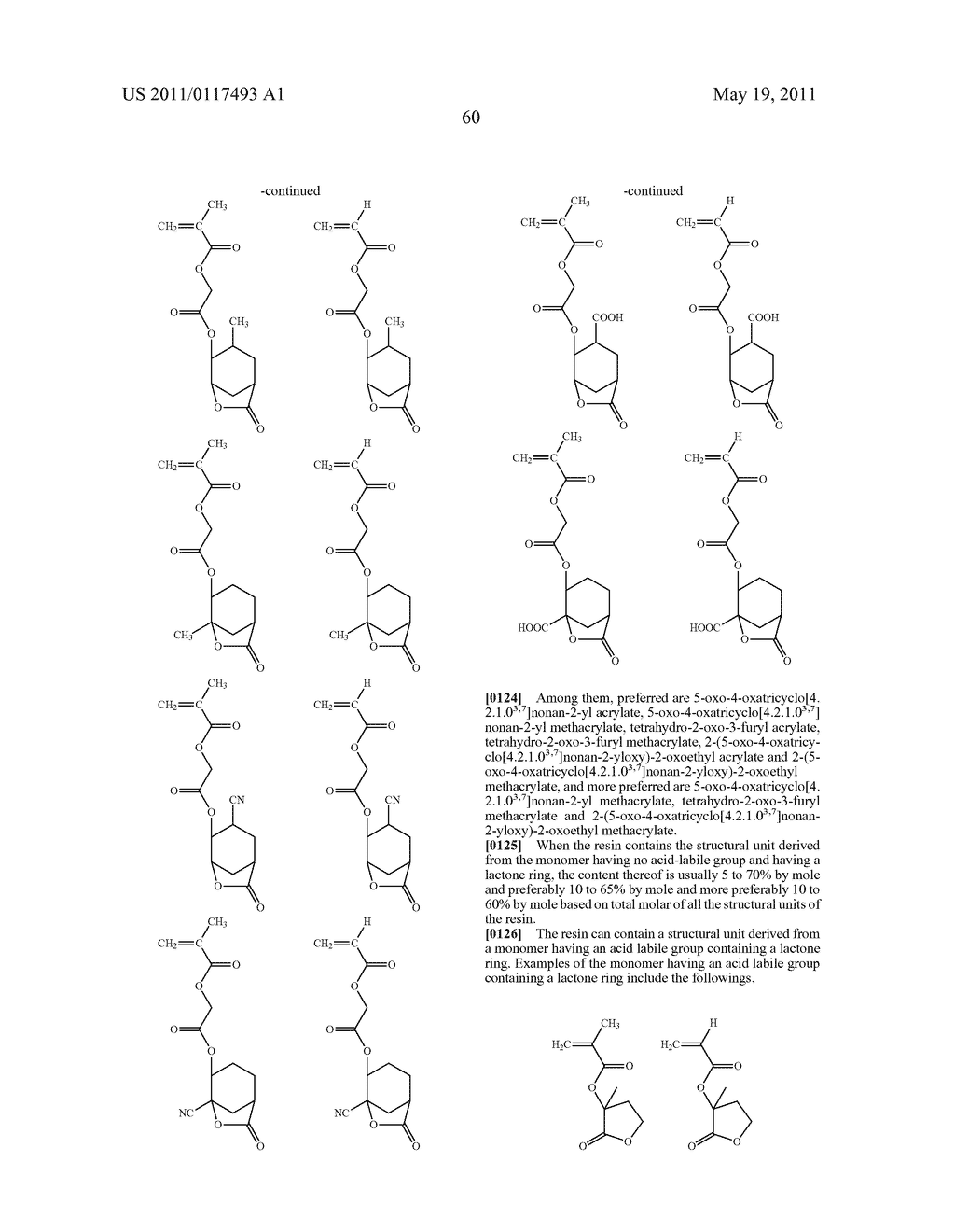 SALT AND PHOTORESIST COMPOSITION CONTAINING THE SAME - diagram, schematic, and image 61