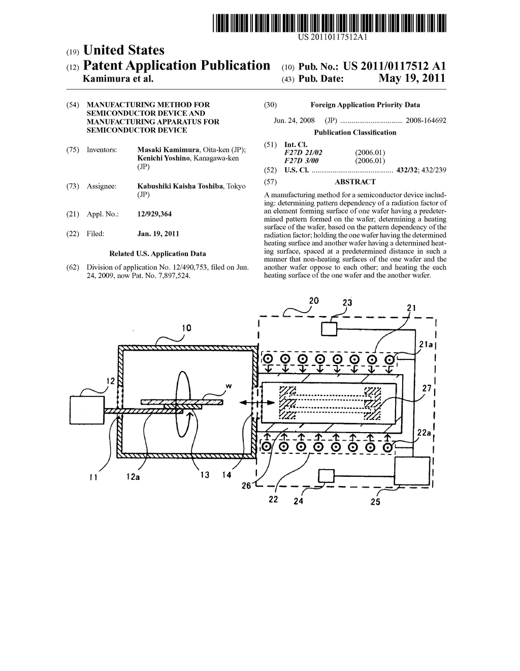 Manufacturing method for semiconductor device and manufacturing apparatus for semiconductor device - diagram, schematic, and image 01