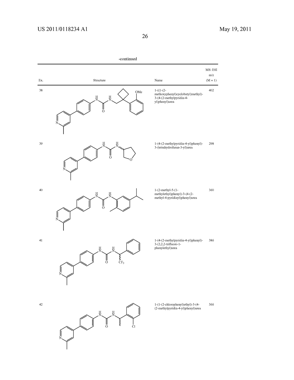Urea Compounds as Gamma Secretase Modulators - diagram, schematic, and image 27