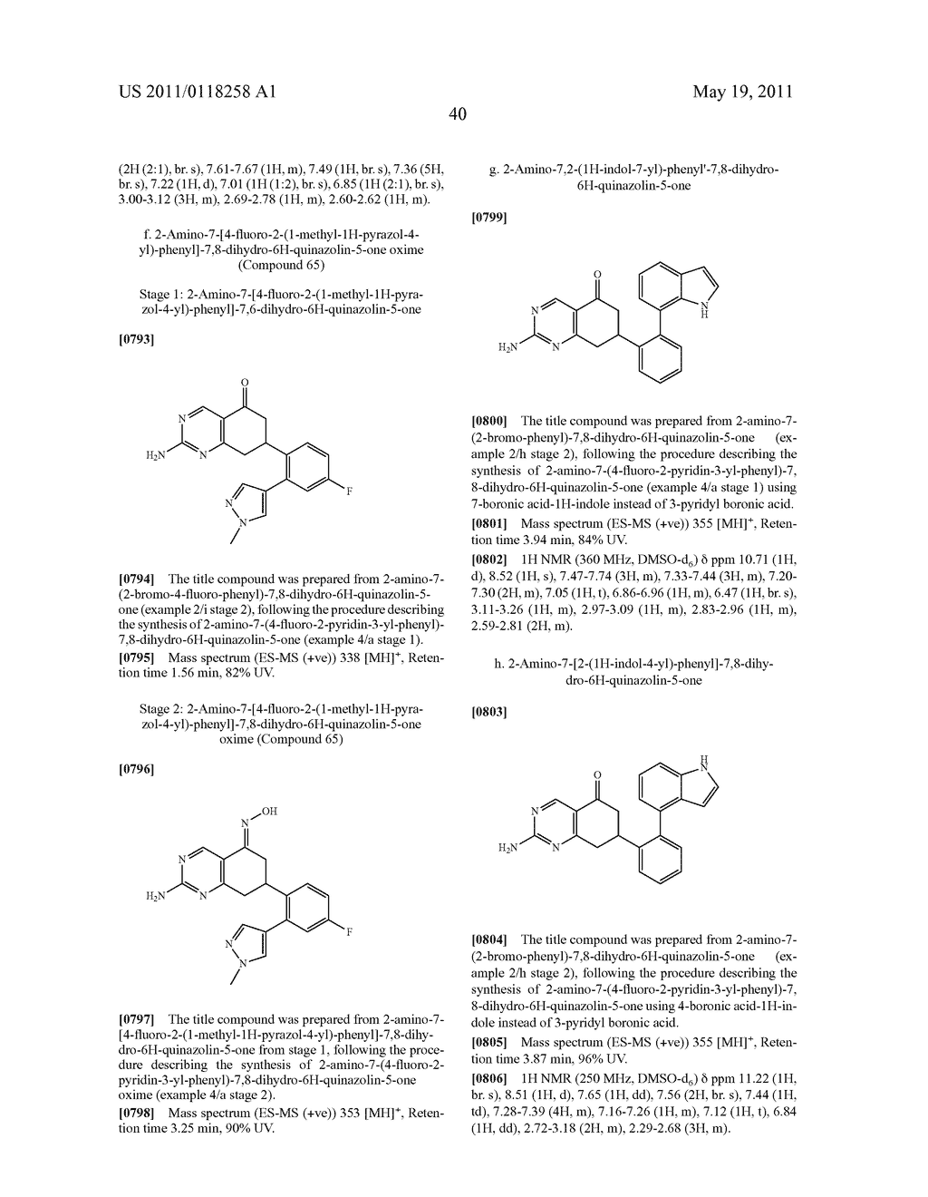 QUINAZOLIN-OXIME DERIVATIVES AS HSP90 INHIBITORS - diagram, schematic, and image 41