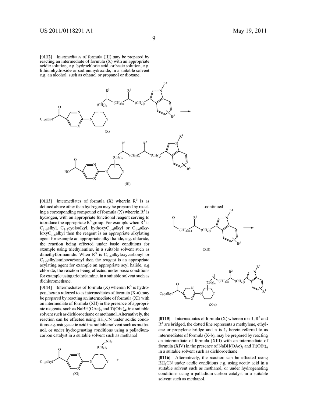 SUBSTITUTED INDOLYL-ALKYL-AMINO-DERIVATIVES AS INHIBITORS OF HISTONE DEACETYLASE - diagram, schematic, and image 10