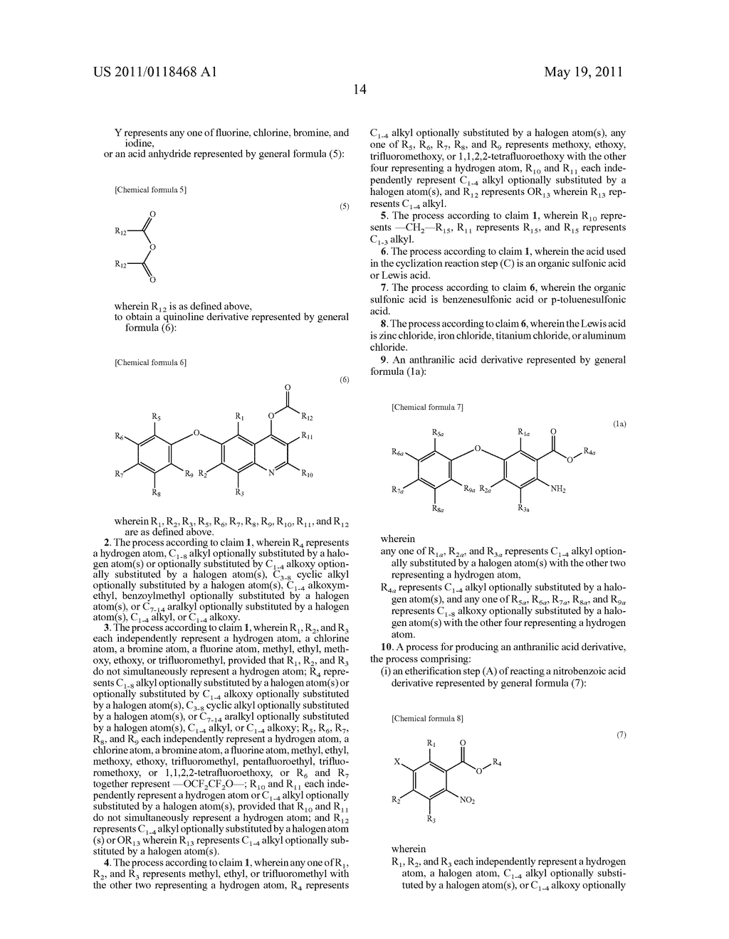 PROCESS FOR PRODUCING 6-ARYLOXYQUINOLINE DERIVATIVE AND INTERMEDIATE THEREFOR - diagram, schematic, and image 15