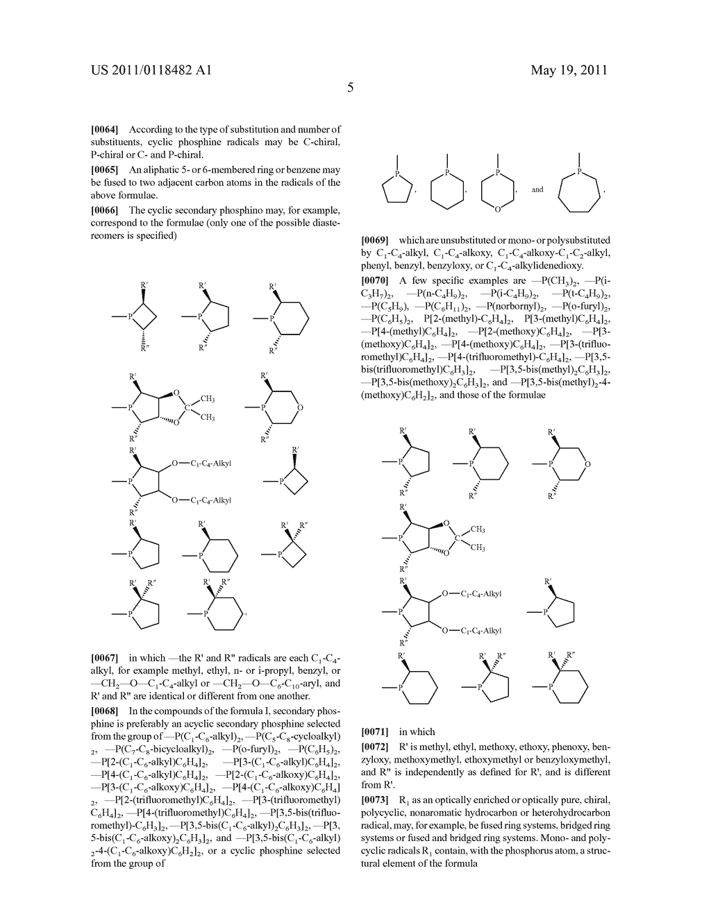 BIDENTATE CHIRAL LIGANDS FOR USE IN CATALYTIC ASYMMETRIC ADDITION REACTIONS - diagram, schematic, and image 06