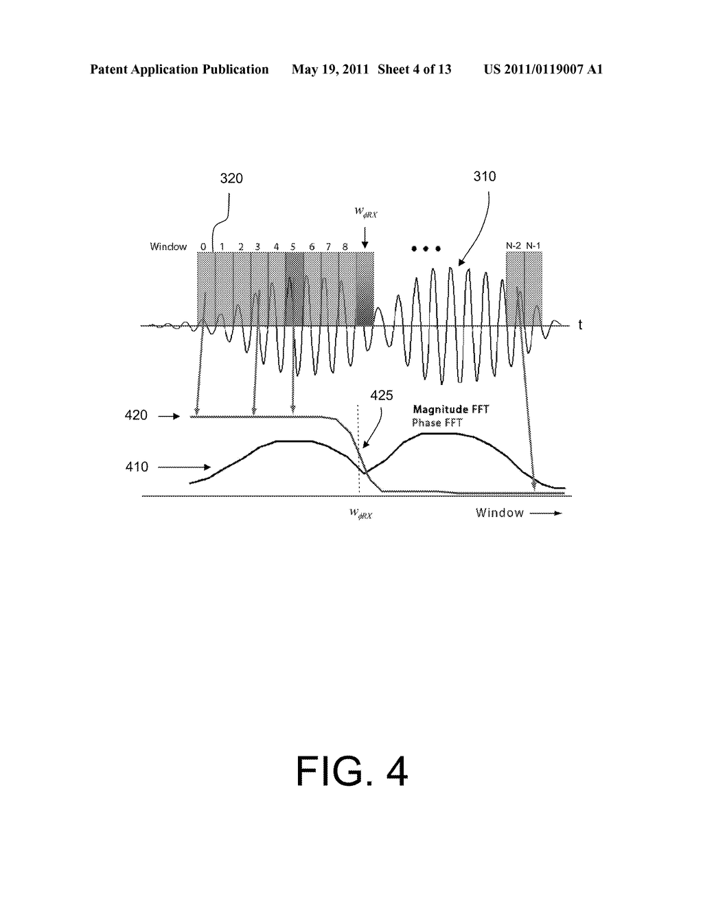 METHOD AND SYSTEM FOR DETERMINING THE TIME-OF-FLIGHT OF A SIGNAL - diagram, schematic, and image 05