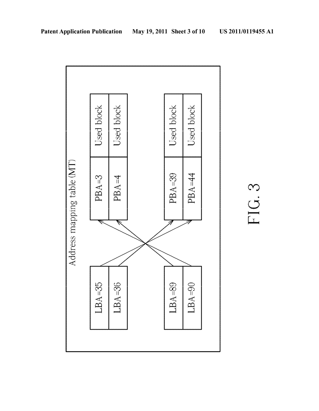METHODS OF UTILIZING ADDRESS MAPPING TABLE TO MANAGE DATA ACCESS OF STORAGE MEDIUM WITHOUT PHYSICALLY ACCESSING STORAGE MEDIUM AND RELATED STORAGE CONTROLLERS THEREOF - diagram, schematic, and image 04