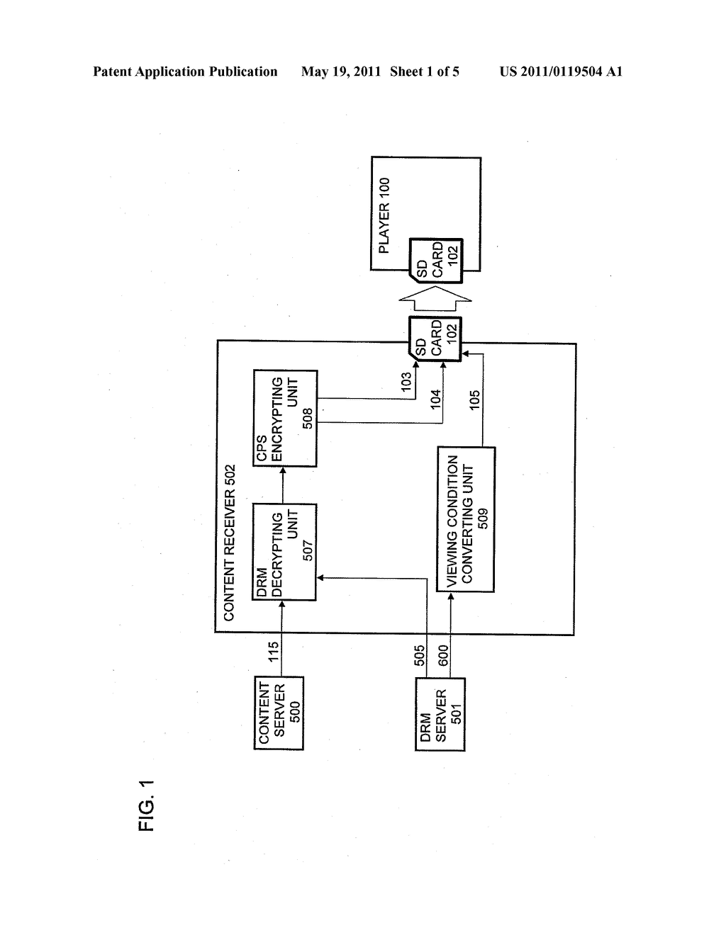 CONTENT PROTECTING METHOD, CONTENT REPRODUCING APPARATUS, AND PROGRAM - diagram, schematic, and image 02