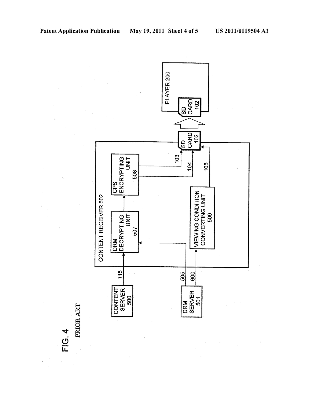 CONTENT PROTECTING METHOD, CONTENT REPRODUCING APPARATUS, AND PROGRAM - diagram, schematic, and image 05