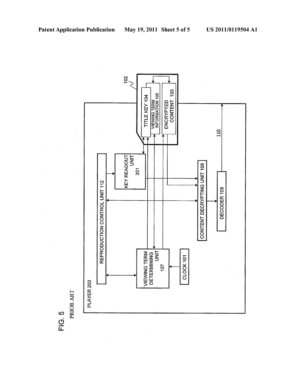 CONTENT PROTECTING METHOD, CONTENT REPRODUCING APPARATUS, AND PROGRAM - diagram, schematic, and image 06