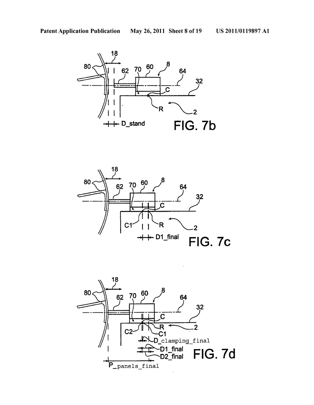 DEVICE AND PROCESS FOR ASSEMBLY OF PANELS USING RIVETING - diagram, schematic, and image 09
