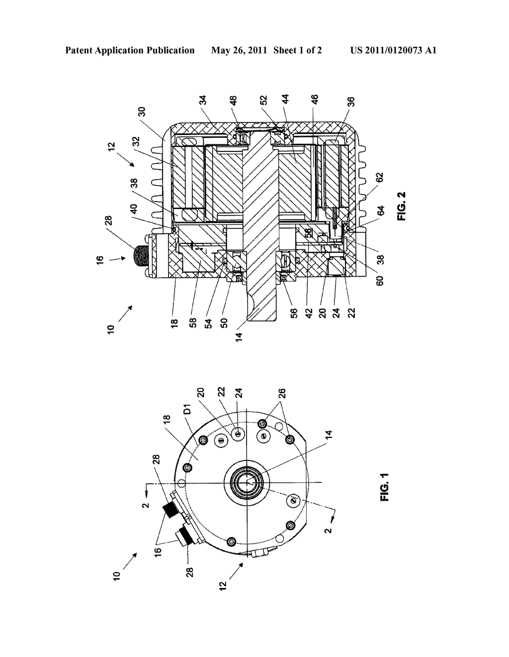 Water-Resistant Electric Motor - diagram, schematic, and image 02