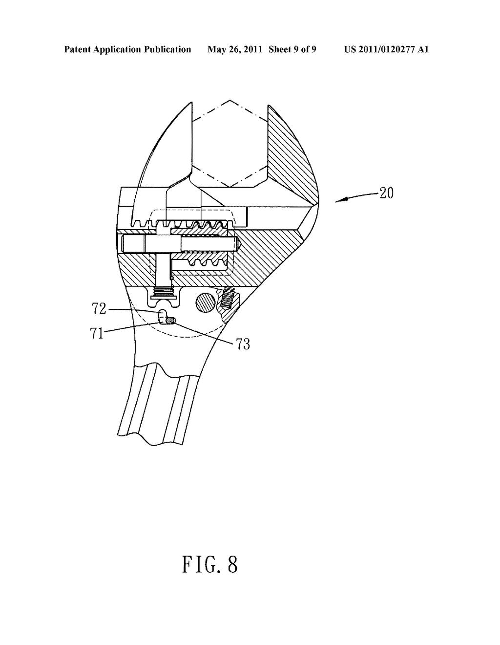 crescent wrench schematic