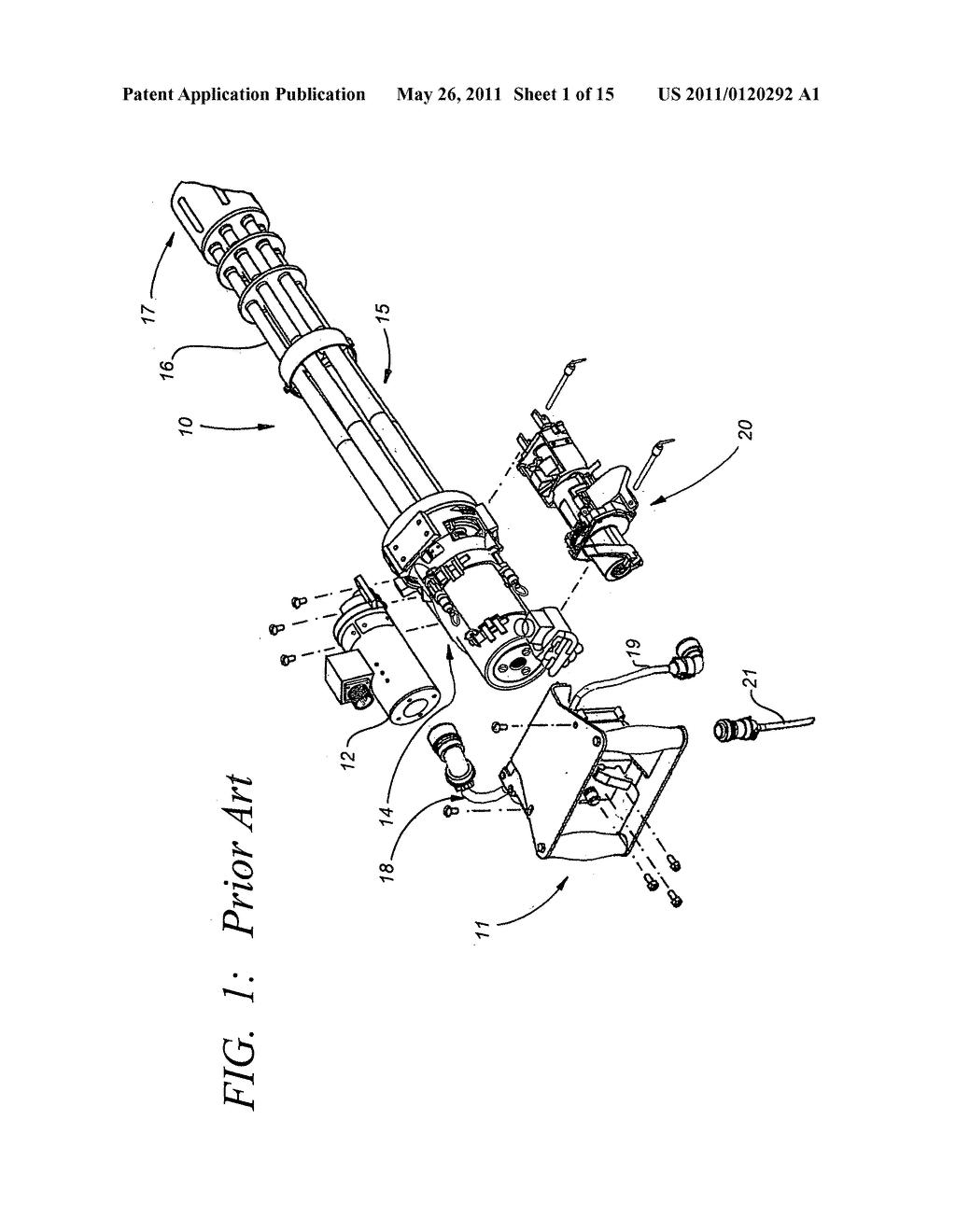 ACCESS DOOR FOR FEEDER/DELINKER OF A GATLING GUN - diagram ...