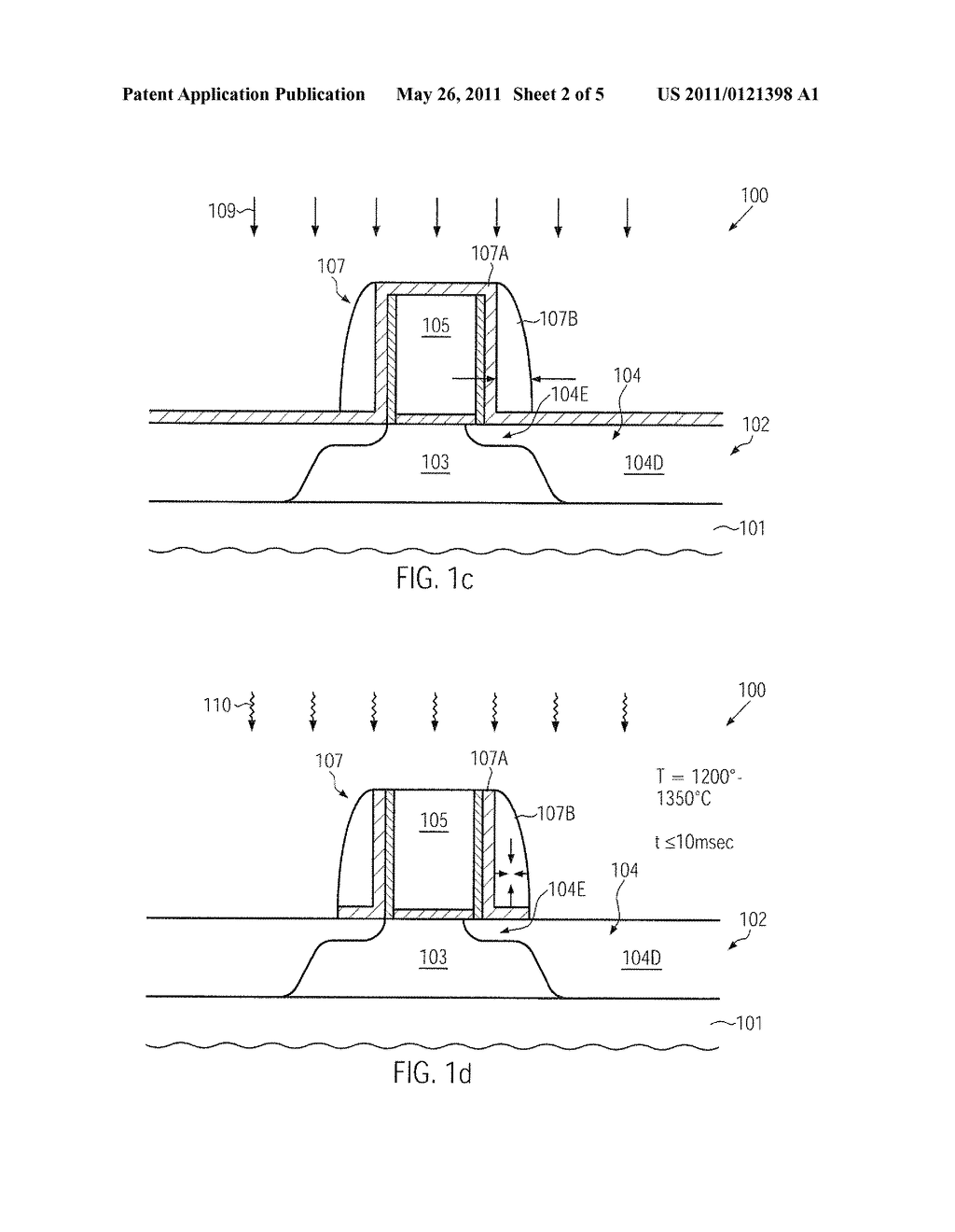TECHNIQUE FOR ENHANCING DOPANT PROFILE AND CHANNEL CONDUCTIVITY BY MILLISECOND ANNEAL PROCESSES - diagram, schematic, and image 03