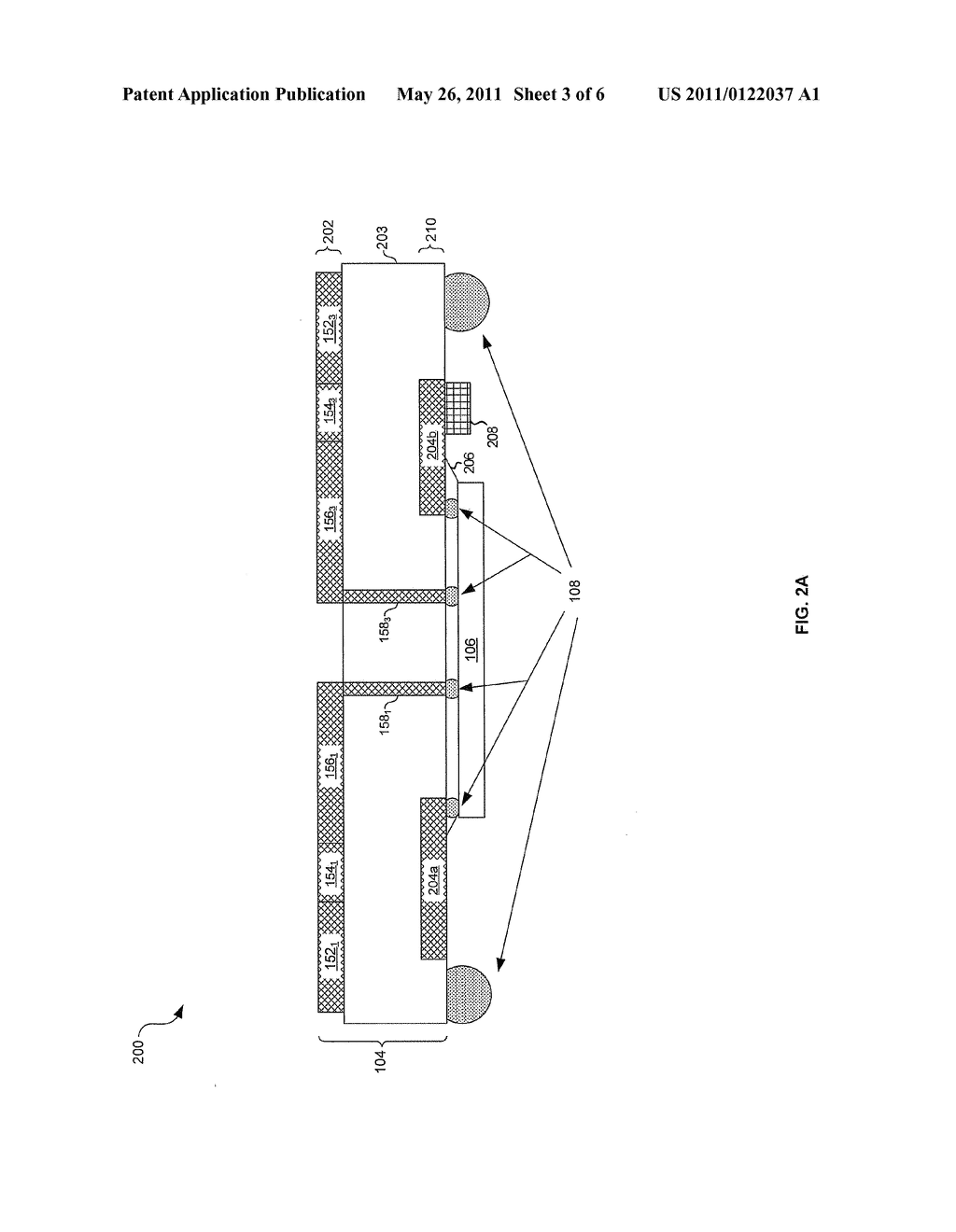 METHOD AND SYSTEM FOR A PHASED ARRAY ANTENNA EMBEDDED IN AN INTEGRATED CIRCUIT PACKAGE - diagram, schematic, and image 04