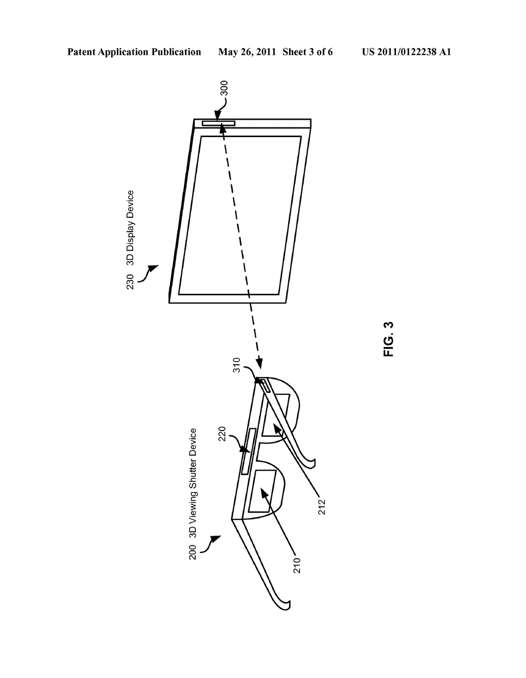 Method And System For Synchronizing 3D Shutter Glasses To A Television Refresh Rate - diagram, schematic, and image 04