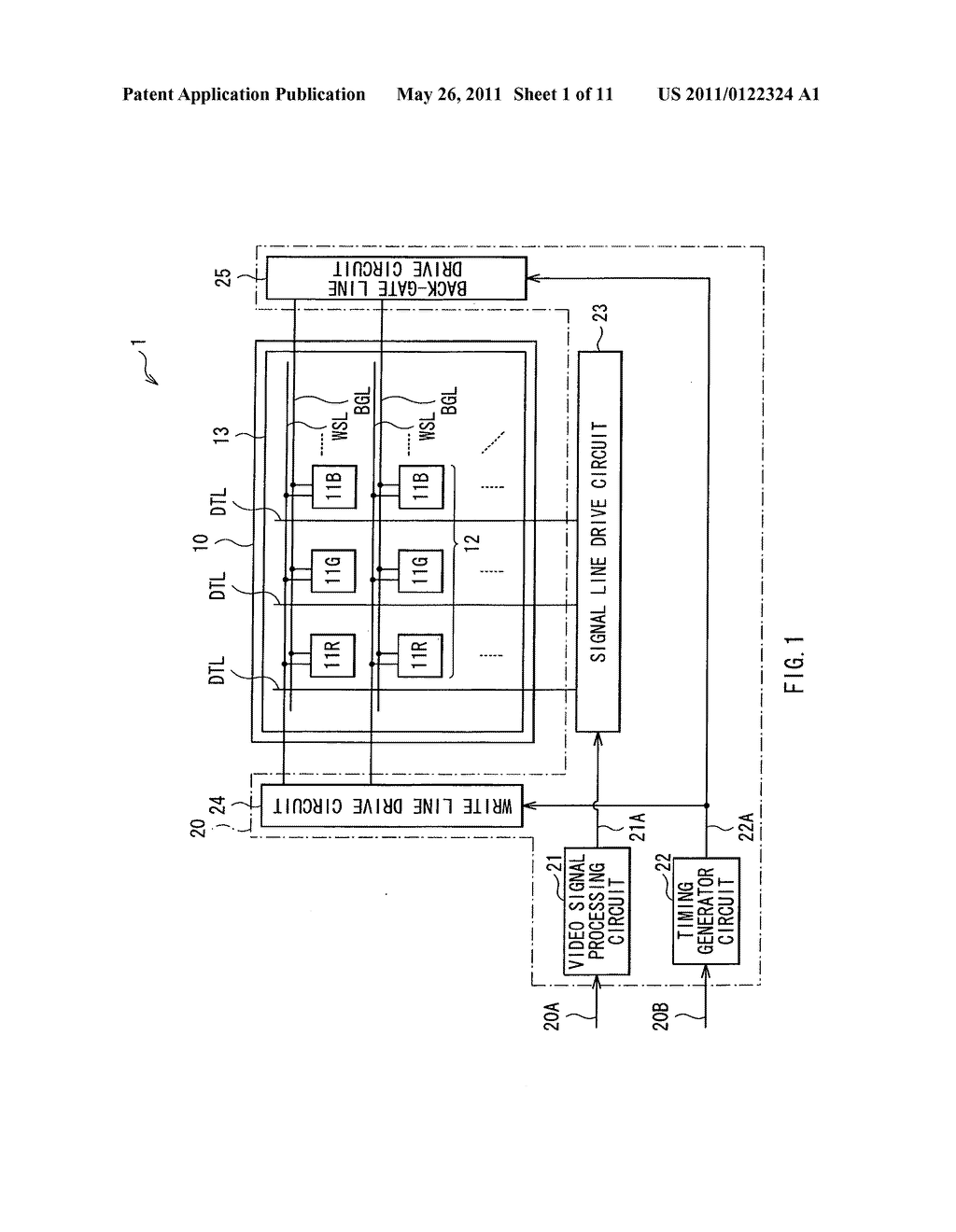 Display apparatus, method of driving the display device, and electronic device - diagram, schematic, and image 02