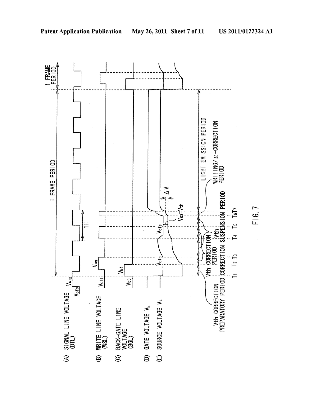 Display apparatus, method of driving the display device, and electronic device - diagram, schematic, and image 08