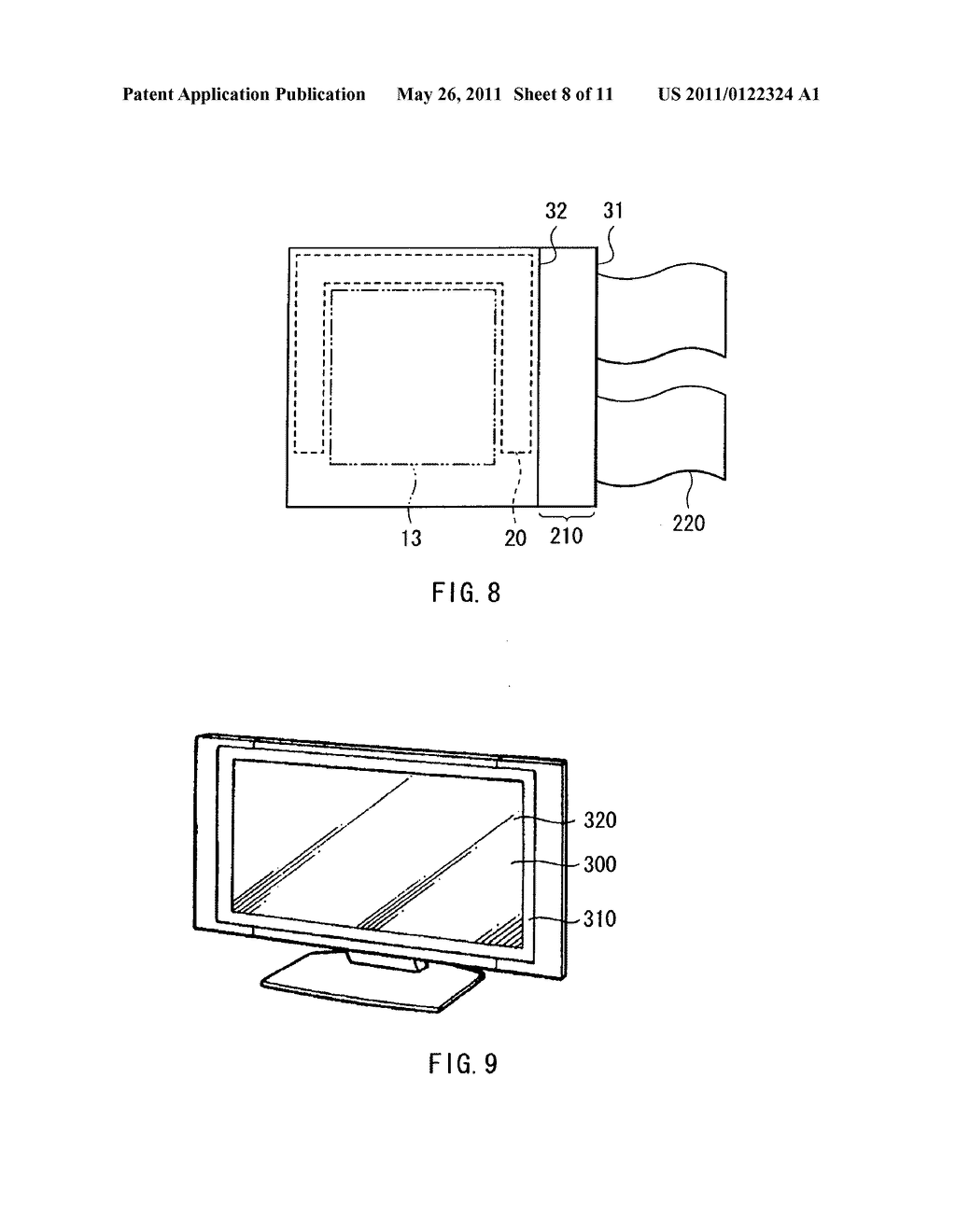 Display apparatus, method of driving the display device, and electronic device - diagram, schematic, and image 09