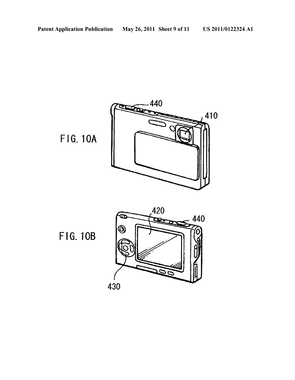 Display apparatus, method of driving the display device, and electronic device - diagram, schematic, and image 10