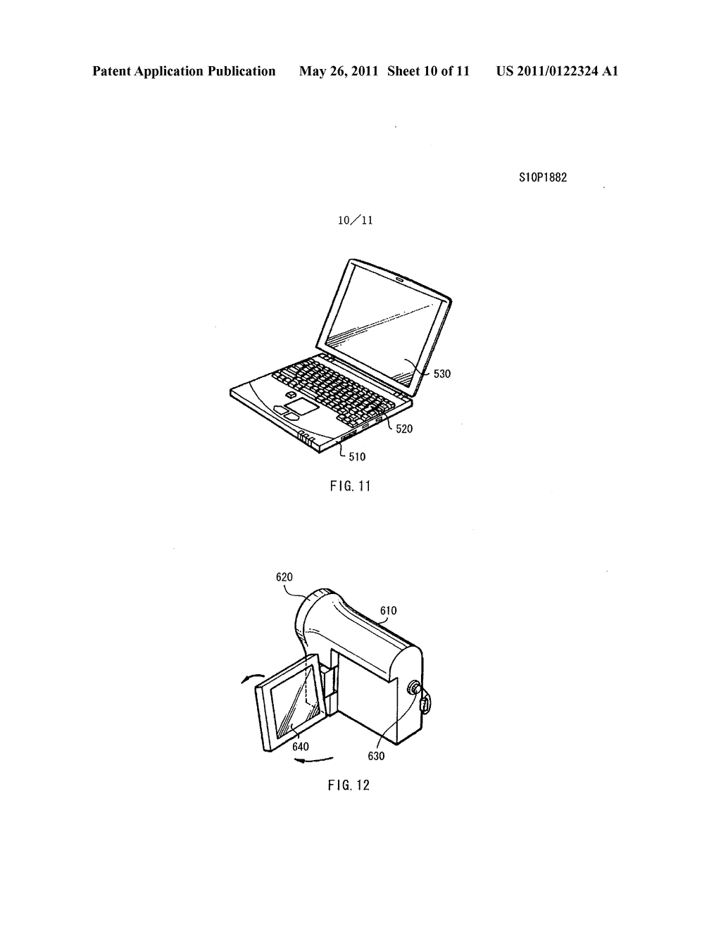 Display apparatus, method of driving the display device, and electronic device - diagram, schematic, and image 11