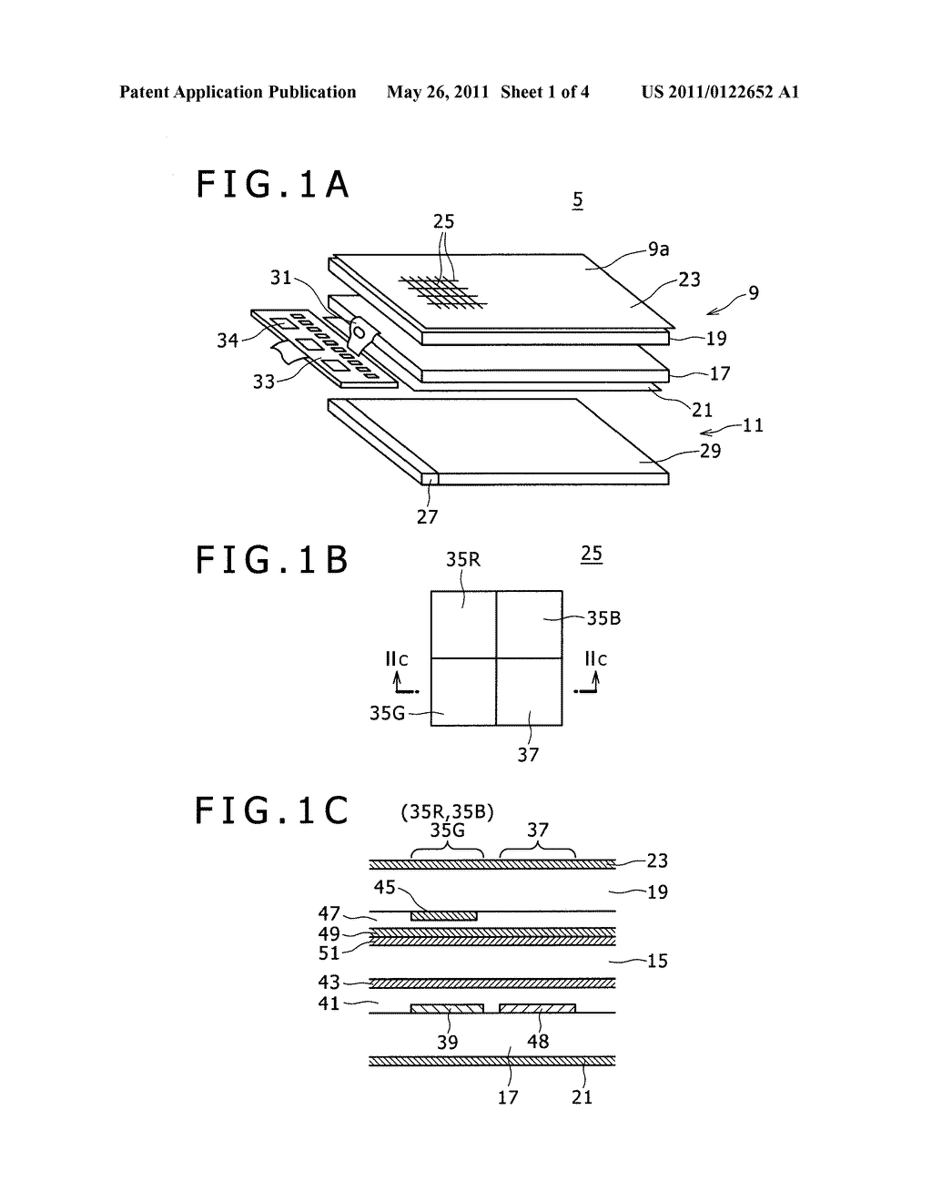 DISPLAY DEVICE AND OPTICAL DEVICE - diagram, schematic, and image 02