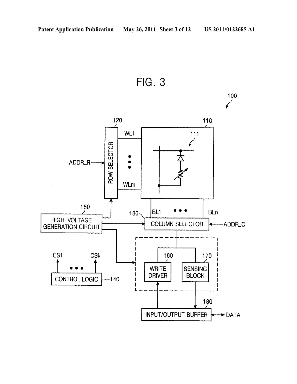 MULTI-LEVEL PHASE-CHANGE MEMORY DEVICE AND METHOD OF OPERATING SAME - diagram, schematic, and image 04