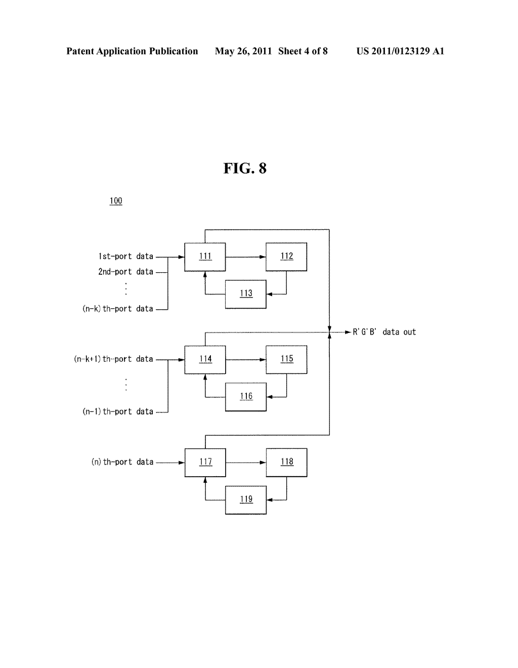 ERROR DIFFUSION METHOD AND LIQUID CRYSTAL DISPLAY USING THE SAME - diagram, schematic, and image 05