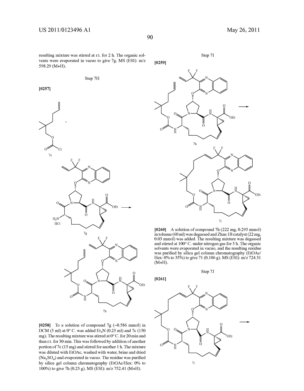 BISMACROCYCLIC COMPOUNDS AS HEPATITIS C VIRUS INHIBITORS - diagram, schematic, and image 91