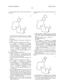 BISMACROCYCLIC COMPOUNDS AS HEPATITIS C VIRUS INHIBITORS diagram and image