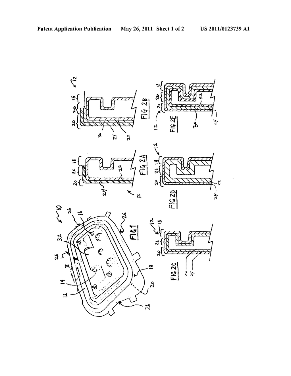 INFLATABLE MULTILAYER BOLSTER AND METHOD OF MANUFACTURE - diagram, schematic, and image 02