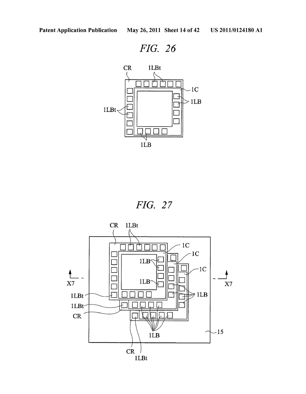 SEMICONDUCTOR DEVICE MANUFACTURING METHOD COMPRISING A METAL PATTERN AND LASER MODIFIED REGIONS IN A CUTTING REGION - diagram, schematic, and image 15