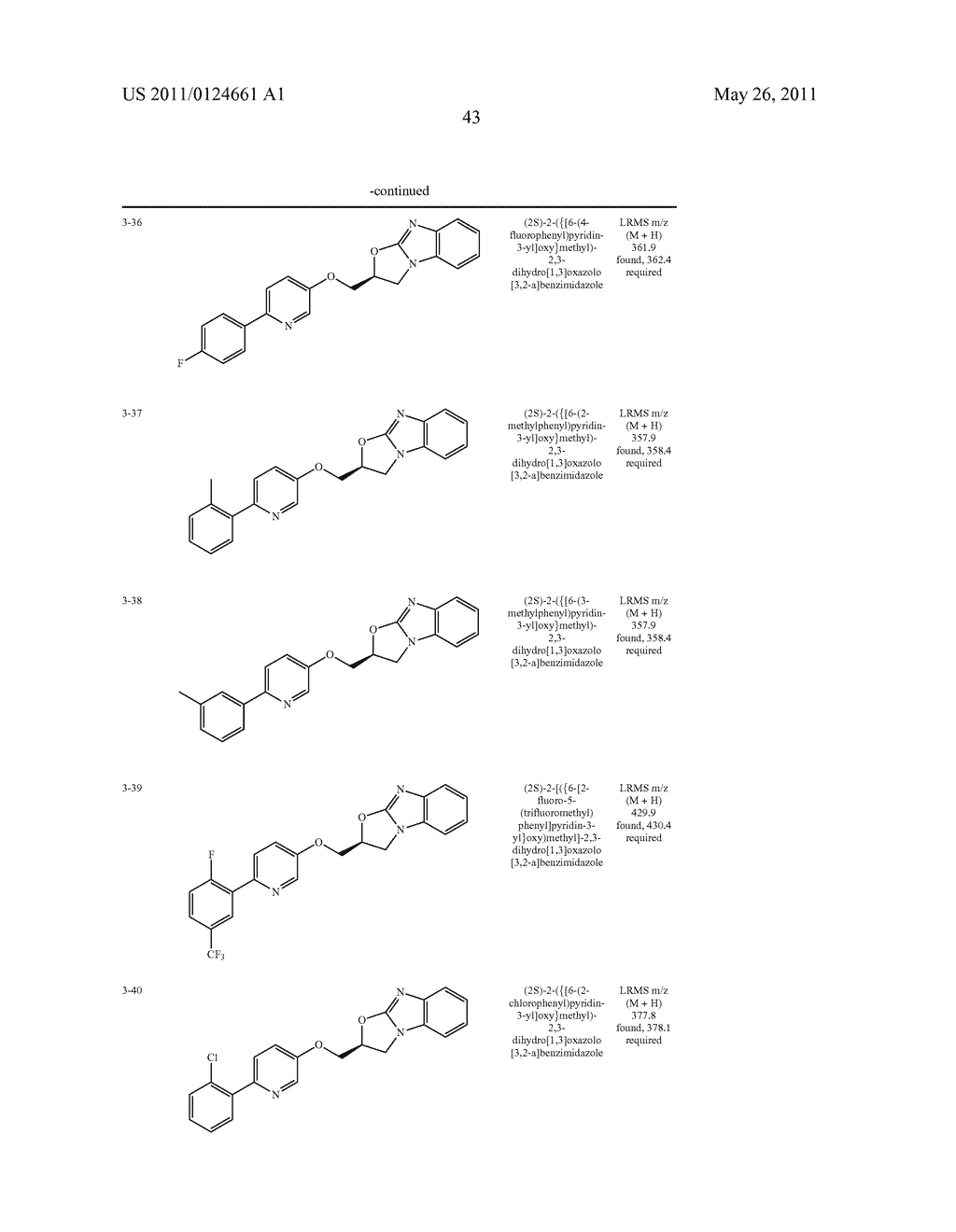 OXAZOLOBENZIMIDAZOLE DERIVATIVES - diagram, schematic, and image 44