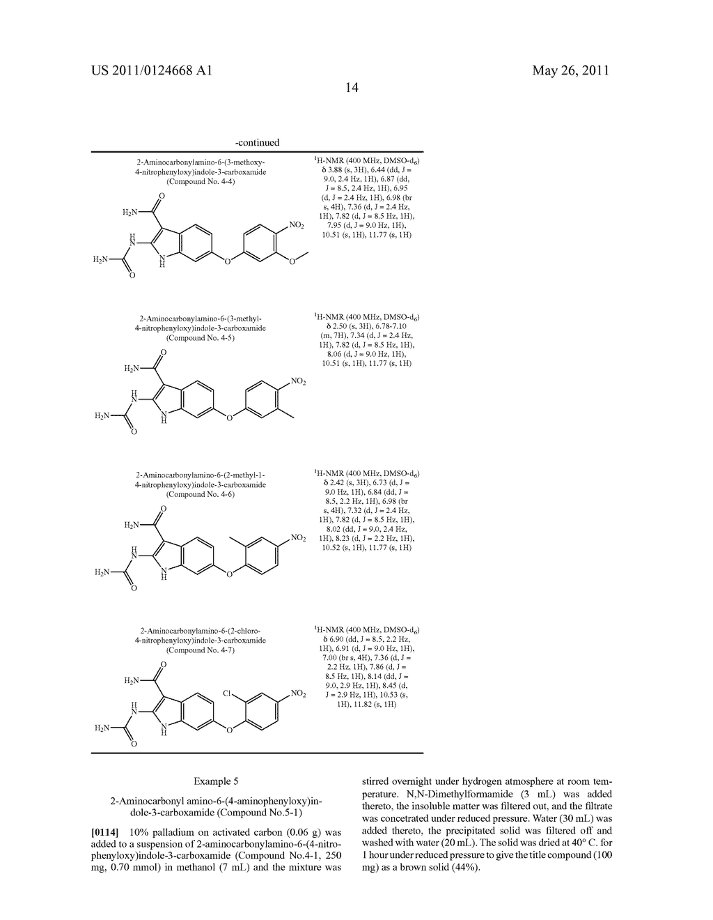 NOVEL INDOLE DERIVATIVE HAVING, CARBAMOYL GROUP, UREIDO GROUP AND SUBSTITUTED OXY GROUP - diagram, schematic, and image 15