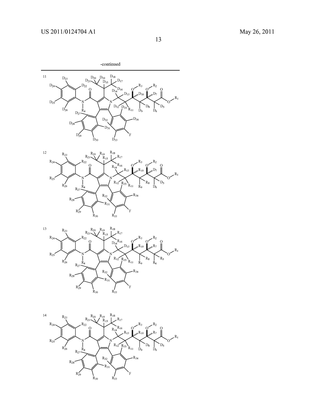 DEUTERIUM-ENRICHED ATORVASTATIN - diagram, schematic, and image 14