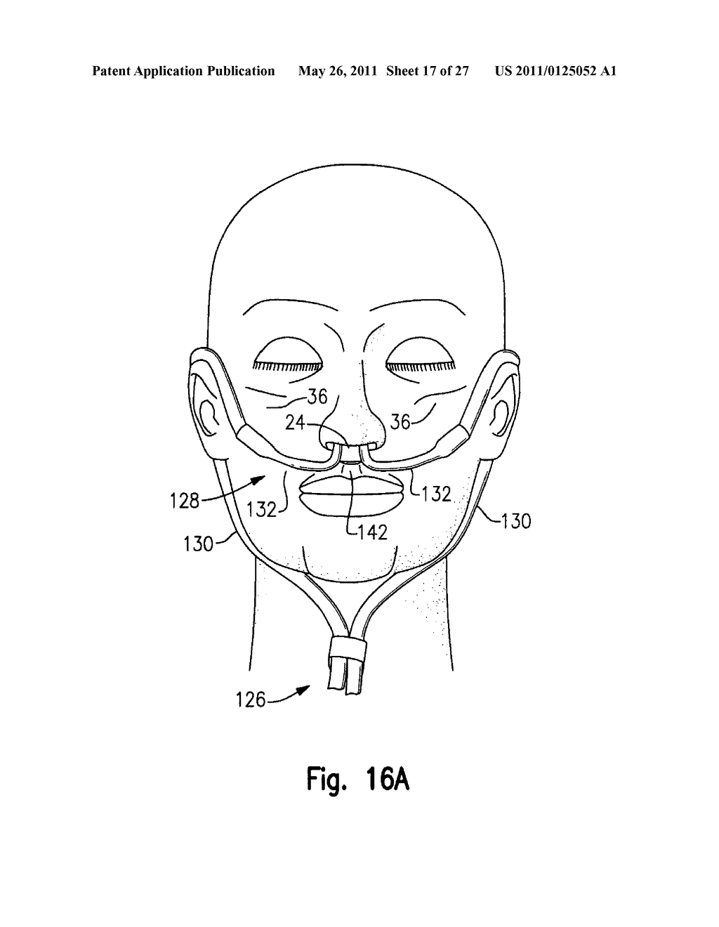 RESPIRATORY THERAPY SYSTEM INCLUDING A NASAL CANNULA ASSEMBLY - diagram, schematic, and image 18