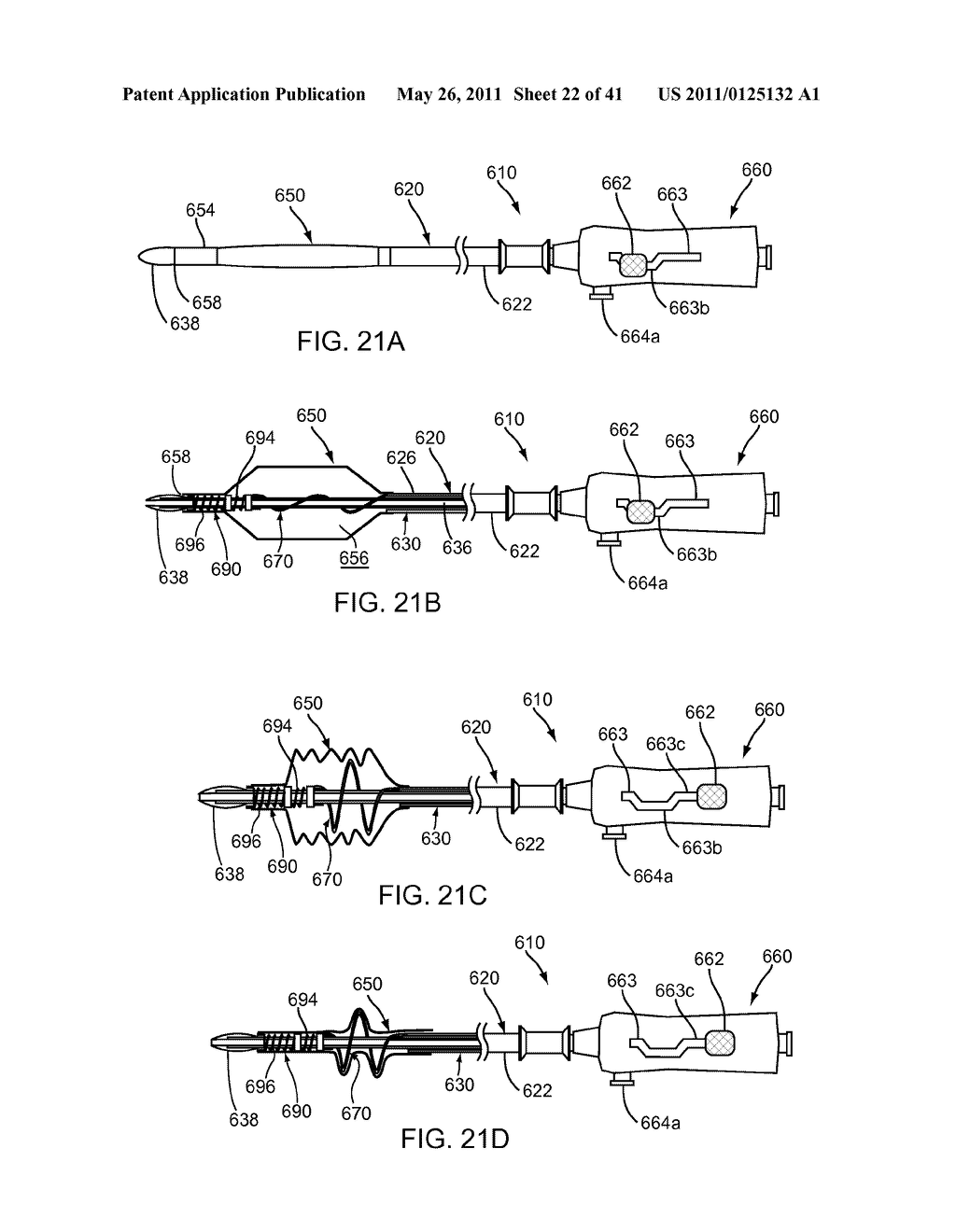 APPARATUS AND METHODS FOR TREATING OBSTRUCTIONS WITHIN BODY LUMENS - diagram, schematic, and image 23