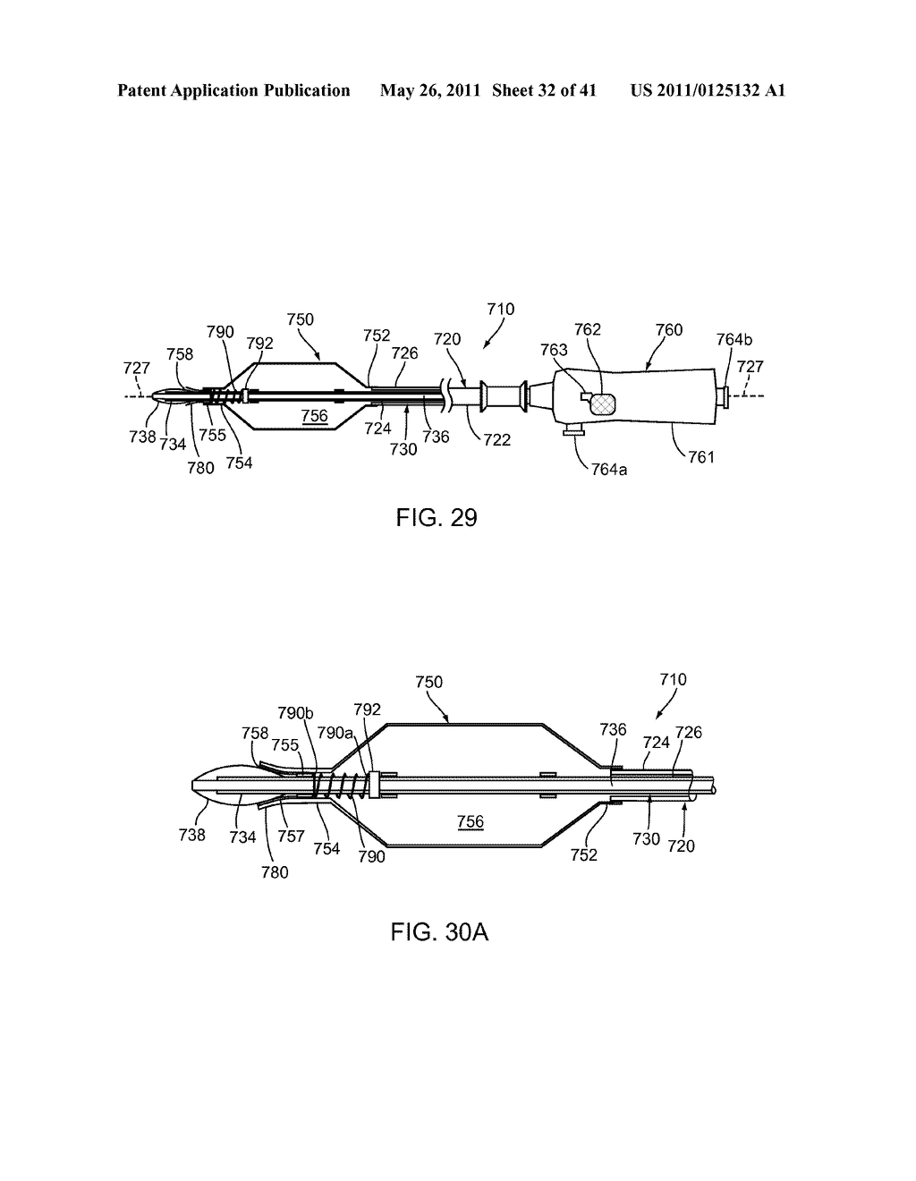 APPARATUS AND METHODS FOR TREATING OBSTRUCTIONS WITHIN BODY LUMENS - diagram, schematic, and image 33