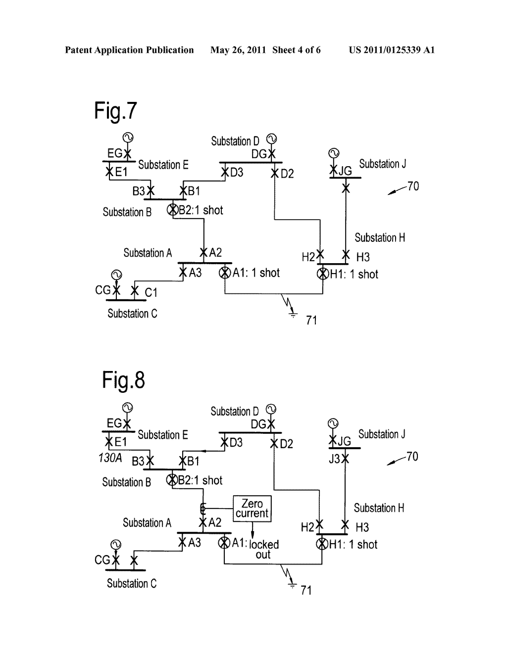 PROTECTION ARRANGEMENT FOR AN ELECTRICAL POWER DISTRIBUTION NETWORK -  diagram, schematic, and image 05Patents
