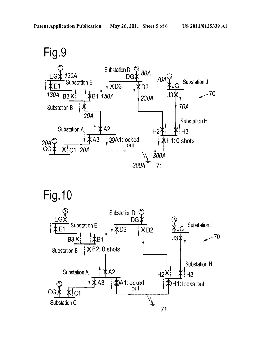 protection arrangement for an electrical power distribution network rh patentsencyclopedia com electricity network diagram electrical network diagram symbols