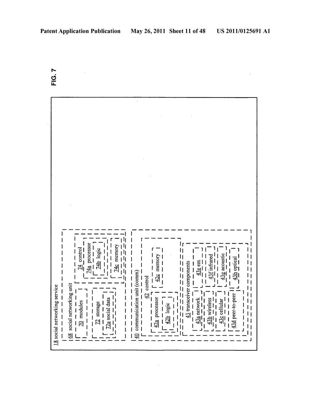 System and method for output of comparison of physical entities of a received selection and associated with a social network - diagram, schematic, and image 12