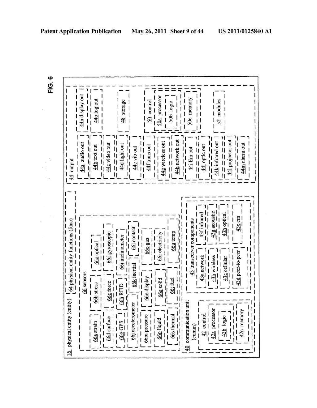 System and method for assessment of physical entity attribute effects on physical environments through in part social networking service input - diagram, schematic, and image 10
