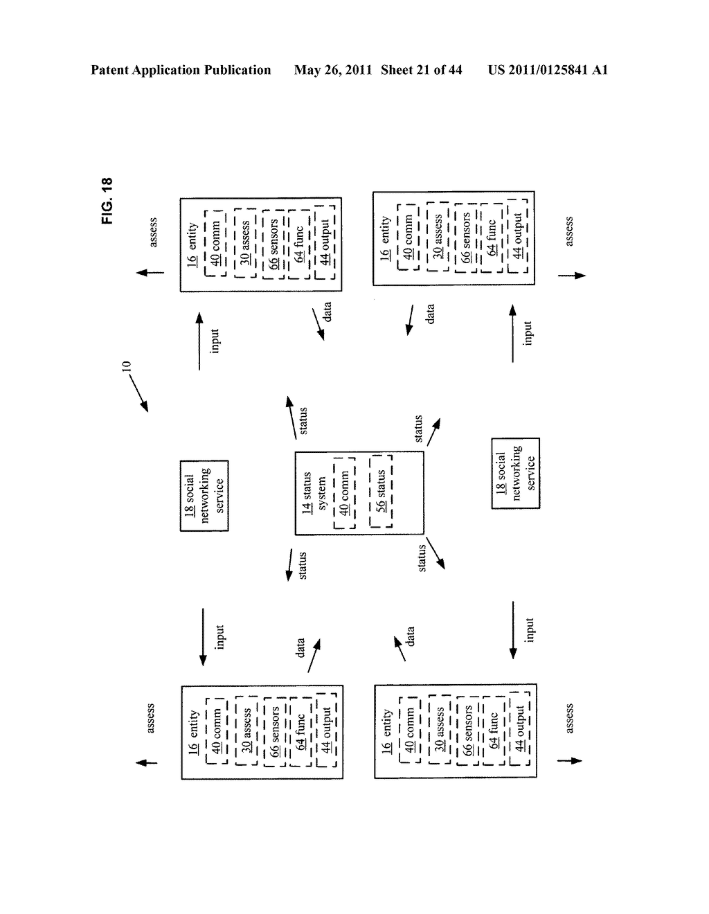 System and method for comparison of physical entity attribute effects on physical environments through in part social networking service input - diagram, schematic, and image 22