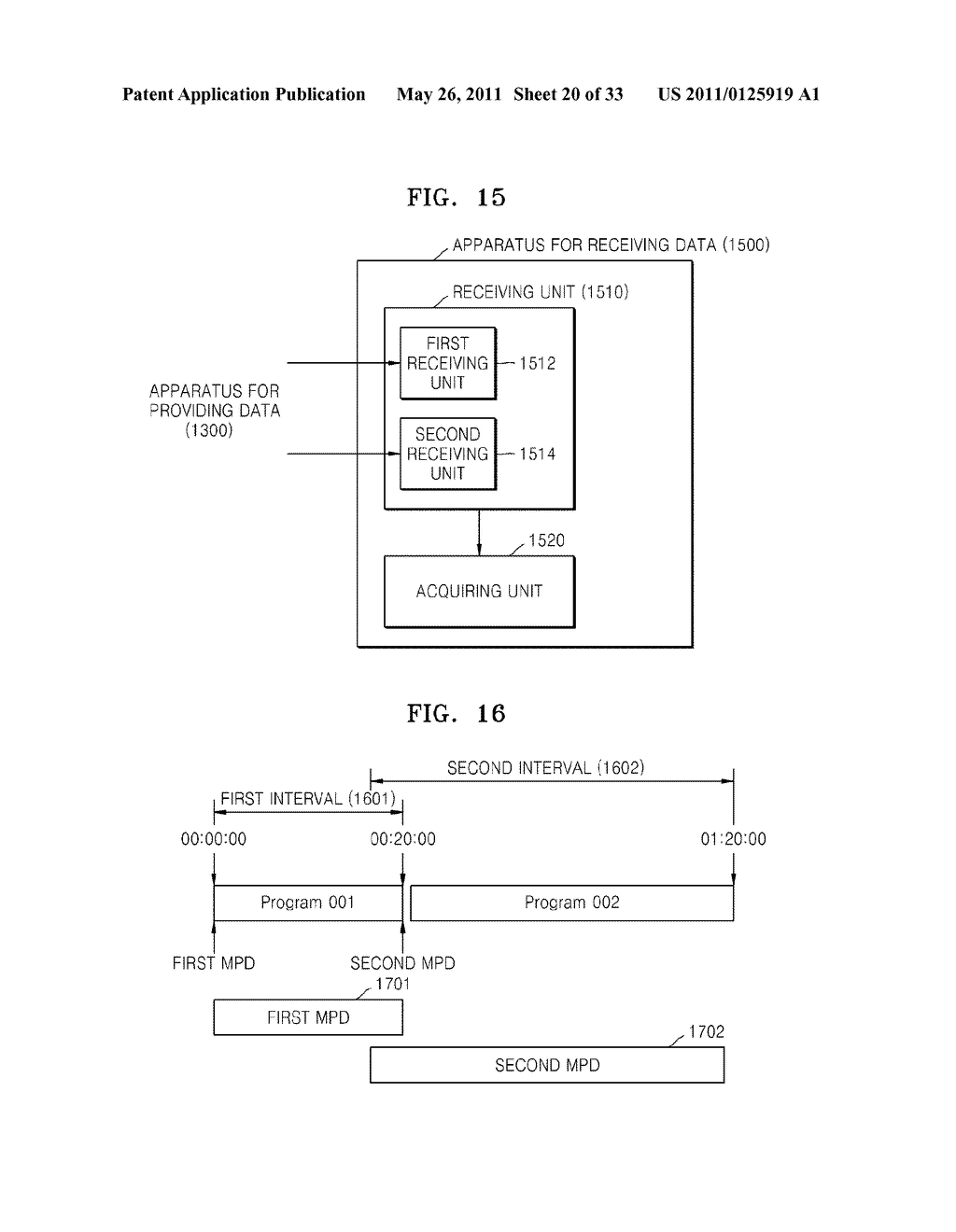 METHOD AND APPARATUS FOR PROVIDING AND RECEIVING DATA - diagram, schematic, and image 21