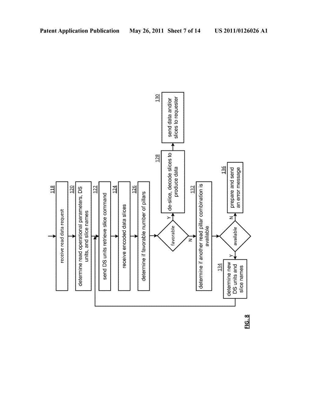 EFFICIENT STORAGE OF ENCRYPTED DATA IN A DISPERSED STORAGE NETWORK - diagram, schematic, and image 08