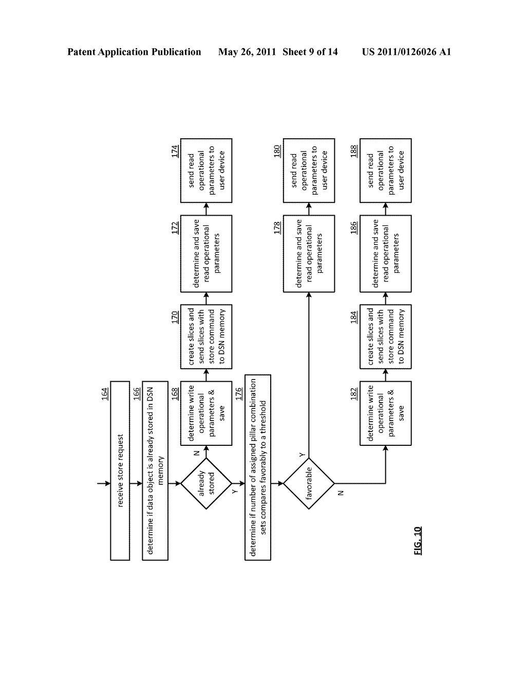 EFFICIENT STORAGE OF ENCRYPTED DATA IN A DISPERSED STORAGE NETWORK - diagram, schematic, and image 10